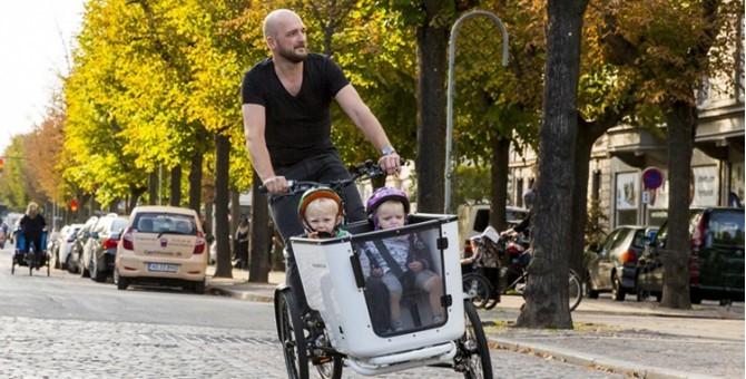 Triporteur avec porte bébé