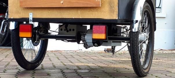 moteur Triporteur electrique