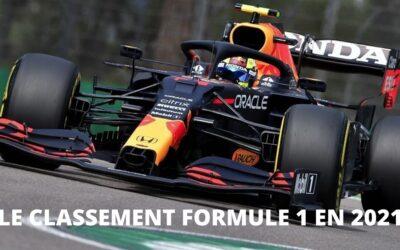 Classement des pilotes de F1: tout ce que vous devez savoir