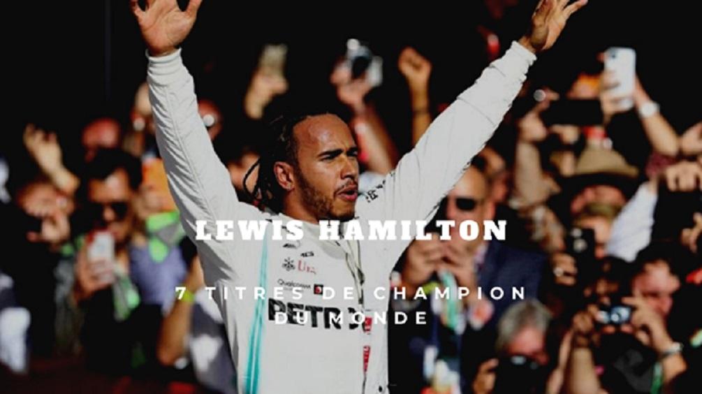 Lewis Hamilton: Retrouvez les 7 grands moments de sa carrière, pour 7 titres de champion du monde