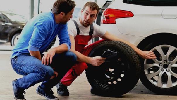 inspection pneu