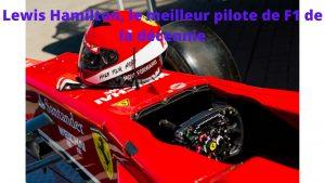 pilote f1 Lewis Hamilton