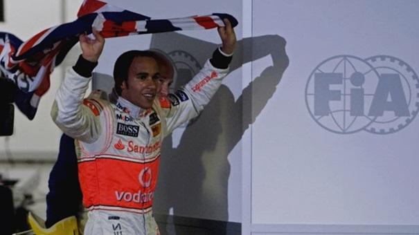 vitoire de Lewis Hamilton